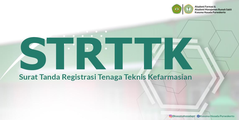 STRTTK - Surat Tanda Registrasi Tenaga Kefarmasian